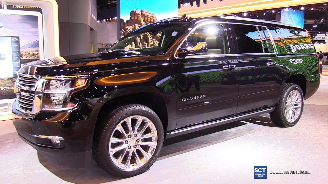 2019 Chevrolet Suburban Premier Exterior And Interior Walkaround 2019 Detroit Auto Show