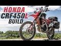 2019 Honda CRF450L Light Adventure Bike Build