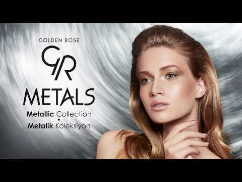 Golden Rose | Metals Metallic Collection  Backstage