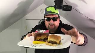 Unboxing of White Castle Impossible Burger