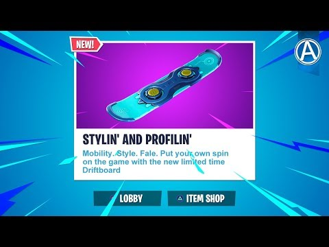 """Pro Console Player // NEW """"DRIFTBOARD"""" Gameplay Update // 1800+ Wins (Fortnite Battle Royale LIVE)"""
