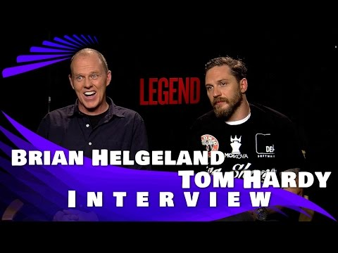 Legend Interview - Tom Hardy & Brian Helgeland (director)