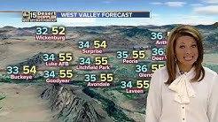 Cold, winter weather takes hold over Arizona
