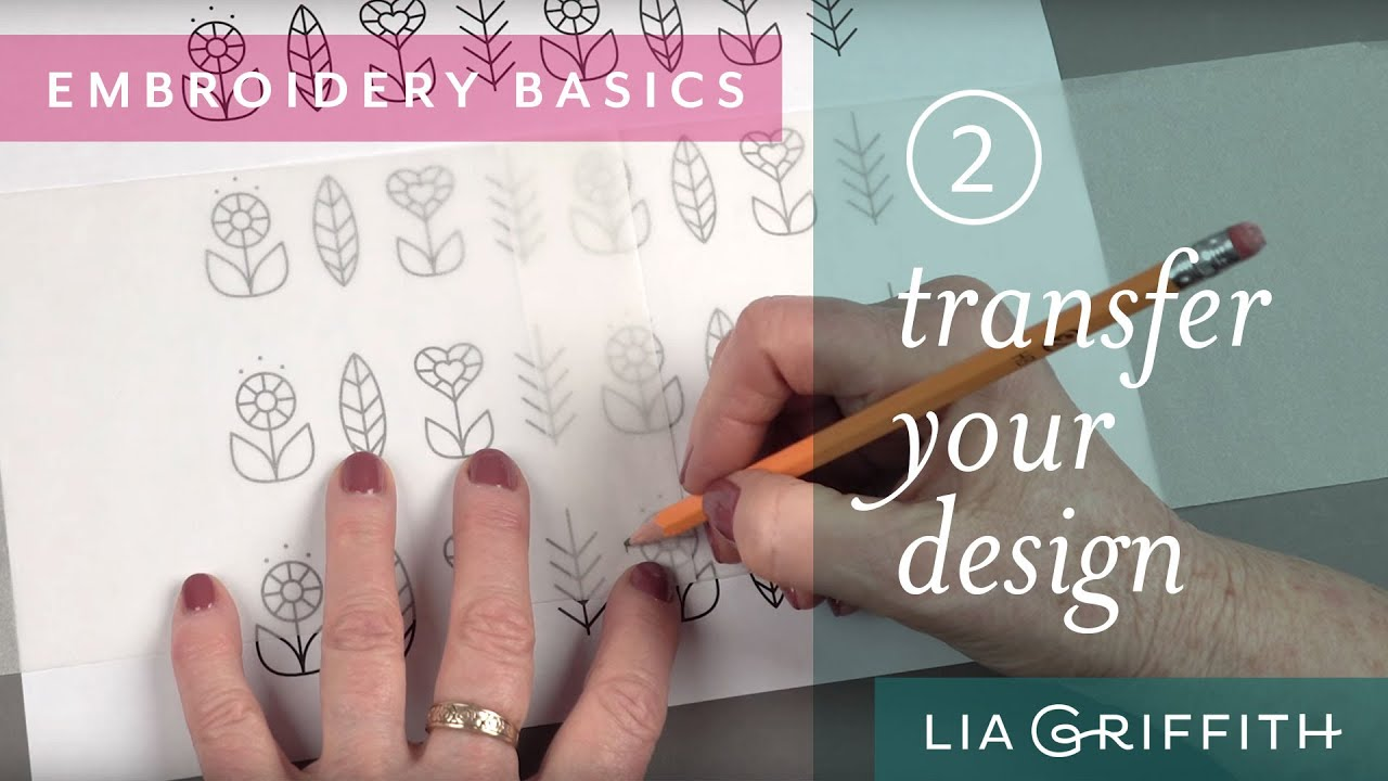 How to transfer an embroidery design onto fabric youtube how to transfer an embroidery design onto fabric bankloansurffo Gallery