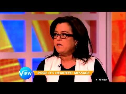 """Rosie O'Donnell: Discusses """"A Heartfelt Standup"""" on The View"""