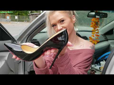 Christian Louboutin So Kate walking challenge