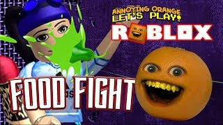 Roblox: Lotta al cibo #1 [Annoying Orange Plays]