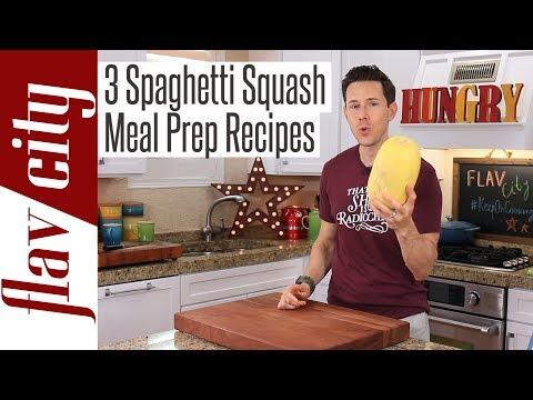 3 Easy Spaghetti Squash Recipes For The Low Carb Keto Diet
