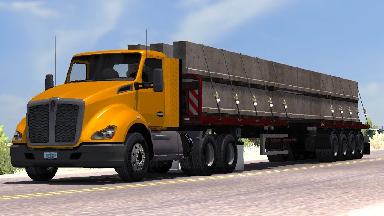 [1 31] American Truck Simulator | Chris45 ATS Trailers Pack v 2 00 for ATS  | Mods