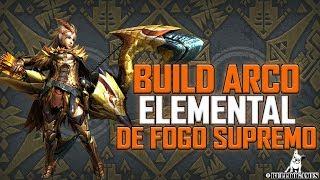 Monster Hunter World - BUILD ARCO DE FOGO SUPREMO!