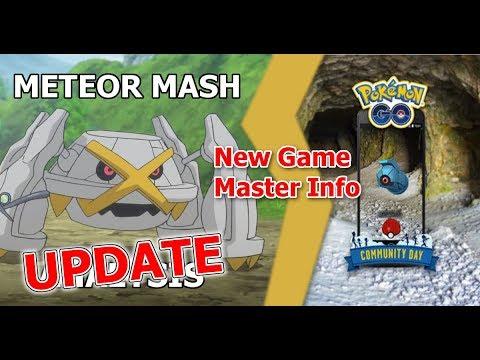 Meteor Mash UPDATE  New GM Info on Community Day