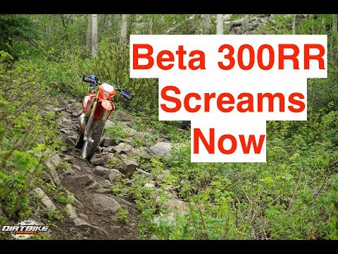 The Beta 300RR is Screaming No cody allen