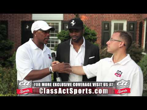 Hall of Fame Running Back Curtis Martin Exclusive Interview w/ Class Act Sports
