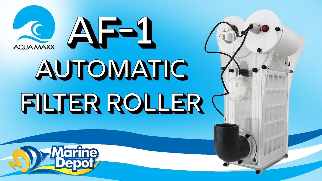 Get Rid of Your Filter Socks with The AquaMaxx AF-1 Automatic Filter Roller! Thumbnail