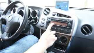 bluetooth kit for toyota matrix 2005 2008 by gta car kits
