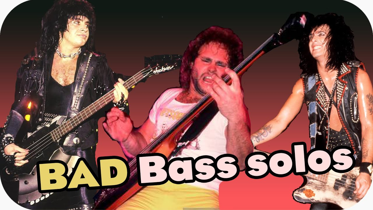 Bad bass solos