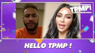 Neymar et Kim Kardashian passent le bonjour à Cyril Hanouna dans TPMP !