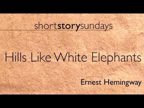 ernest hemingways hills like white elephants