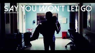 Damon & Elena - Say You Won't Let Go