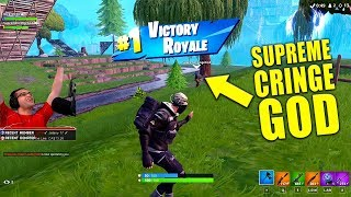 Fortnite but the CRINGE is too STRONG!