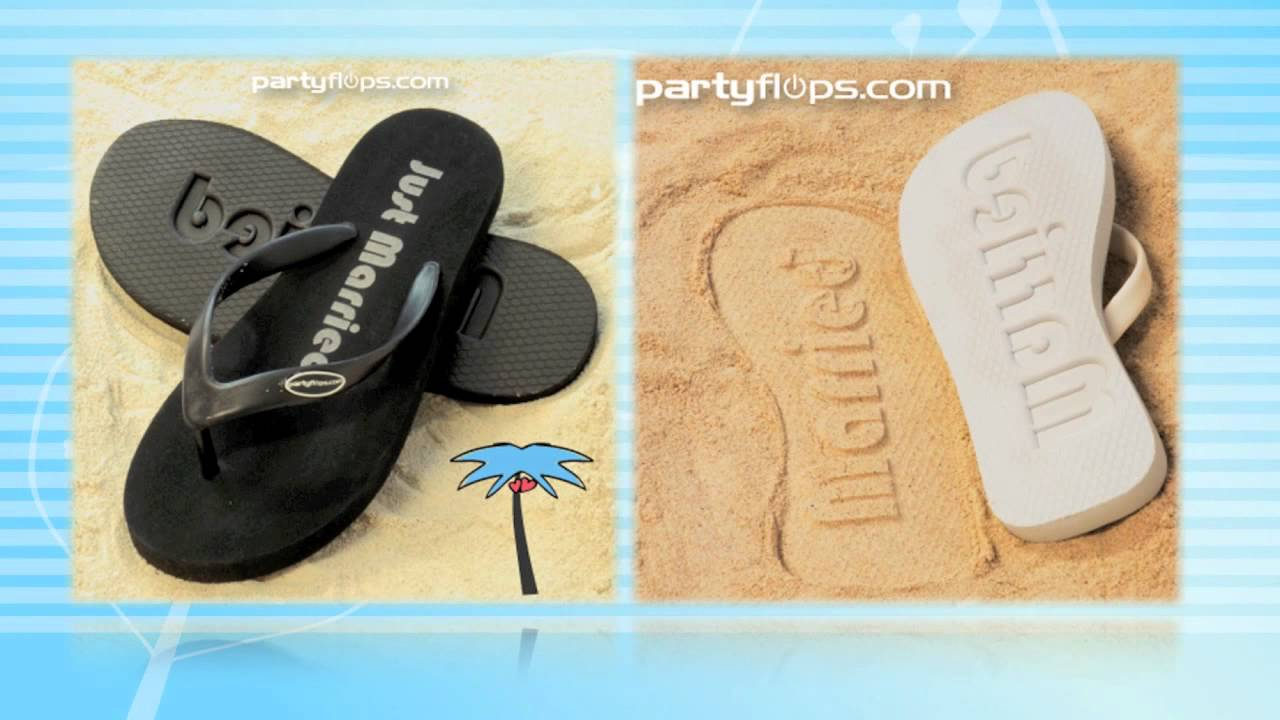 c9c12b4a9 Personalized Flip Flops - YouTube
