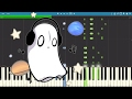 Spooky Blooky Wave - DA Games & GatoPaint , Griffinilla - Piano Tutorial / Cover - Undertale Song