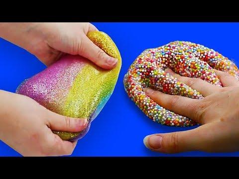 5 Creative DIY Slime Recipes | No Borax Slime | Craft Factory