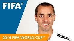 Referees at the 2014 FIFA World Cup™: MARK GEIGER