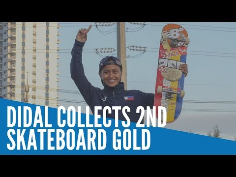 SEA Games 2019: Didal Collects 2nd Skateboard Gold
