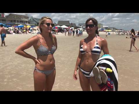 Lost & found Found some fun beach bikini clips interacting with people