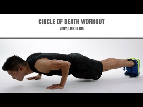 CIRCLE OF DEATH WORKOUT! (Extremely Effective)
