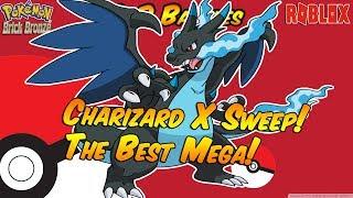 Charizard X Sweep - ¡Este es su mejor MEGA! Roblox Pokemon Brick Bronce PvP Batallas.