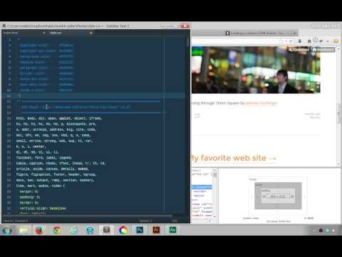 Reviewing And Merging Our Tumblr Theme's HTML And CSS