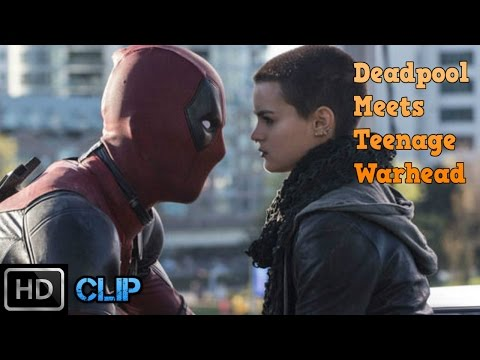 Deadpool (2016) - Deadpool Meets Negasonic Teenage Warhead [HD]