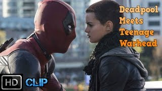 Deadpool (2016) - Deadpool Meets Negasonic Teenage Warhead [HD]