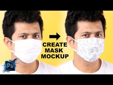 How To Make Face Mask Mockup | Photoshop Mockup Tutorial