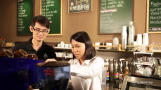 一杯古來好咖啡  在地人黃書琪誠意推薦古來在地好咖啡 Great taste of coffee at Kulai