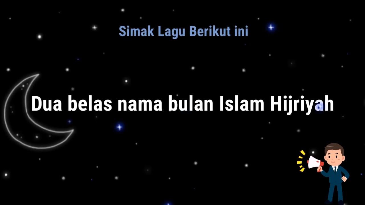 Lagu Nama Bulan Hijriyah Lirik + Vokal