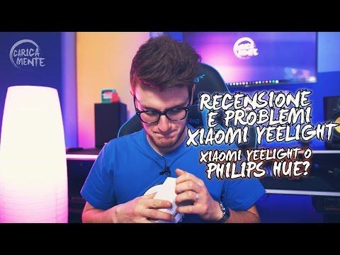 Xiaomi Yeelight, lampadina RGBW per il tuo Setup! - CARICAMENTE ITA 4K