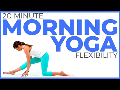 20 minute Full Body Morning Yoga Stretch for Flexibility | Sarah Beth …