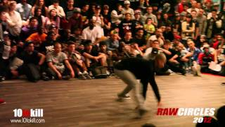 Thesis & Fanatic Vs Lagaet & Bruce Almighty - Quarter-final - Raw Circles 2012