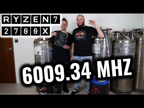 AMD X470 Pinnacle Ridge: RYZEN 7 2700X at 6000 MHz on Crosshair VII Hero (en)