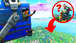 Hiding INSIDE The BATTLE BUS