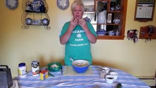Anita's Kitchen: Zucchini Cakes
