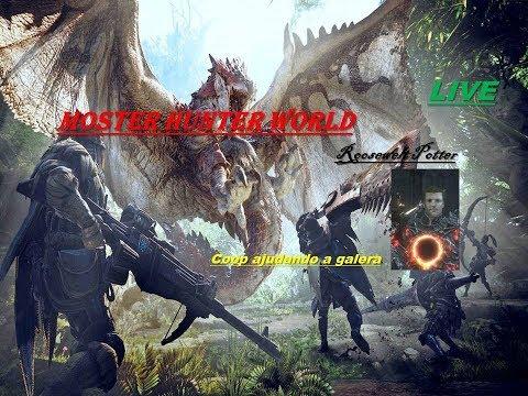 Monster Hunter World fazendo um coop com os amigos e a galera. P21 thumbnail