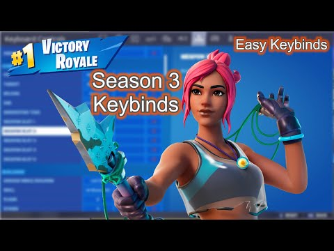 NEW *Amazing* Keybinds For Fortnite Season 3 -Keybinds For Beginners With Small Hands-Fortnite Guide