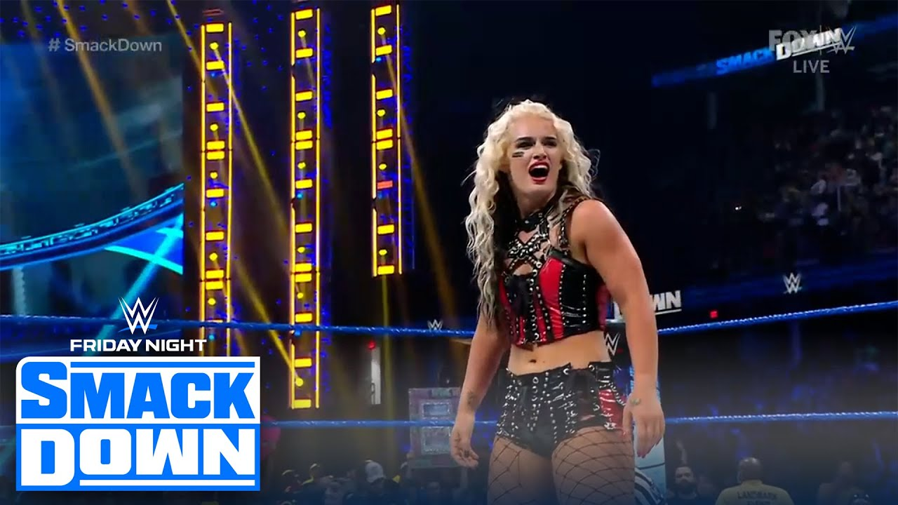 Toni Storm makes her in-ring SmackDown debut | FRIDAY NIGHT SMACKDOWN | WWE ON FOX