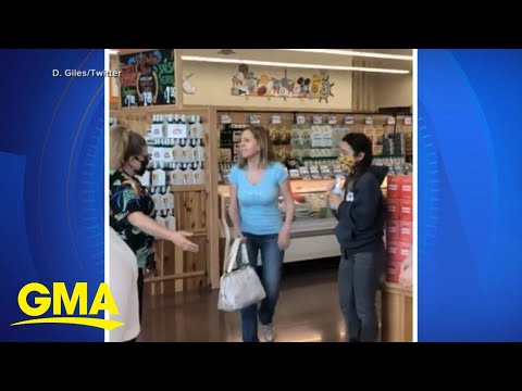 Woman refuses to wear mask while at Trader Joe's  l GMA