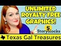 Unlimited Royalty Free Graphics Storyblocks - Where to Find Commercial Use Images Merch by Amazon