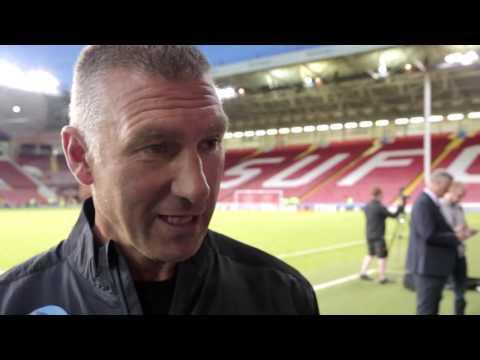 INTERVIEW | Nigel Pearson Post Sheffield United (A)